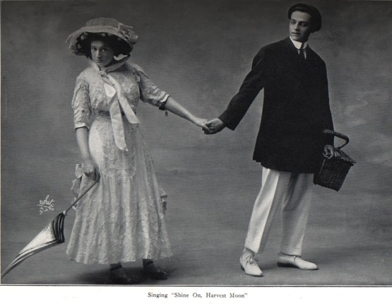 Jack Norworth and Nora Bayes in the Follies of 1908.