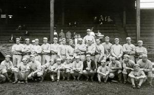 Game 1 of the 1913 World Series, A's and Giants