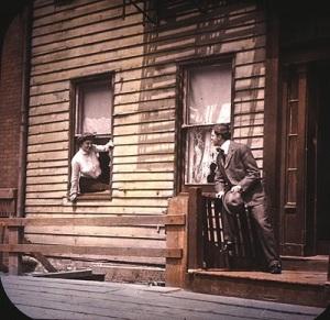 Song slide, 1908.