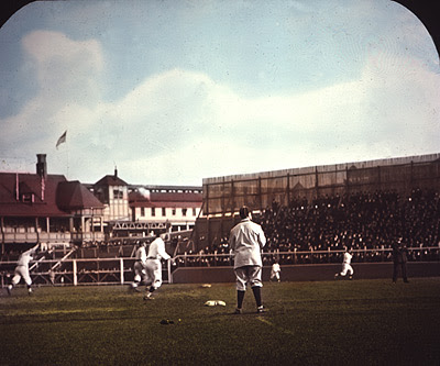 Song slide, Polo Grounds 1908.