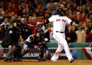 David Ortiz Grand Slam. Getty Images