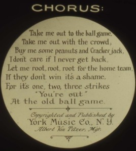 Song slide, 1908