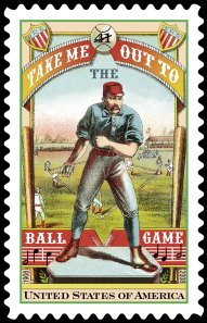 U.S. postal stamp, 2008, with odd 1880s graphics