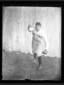 Christy Mathewson, ca 1901
