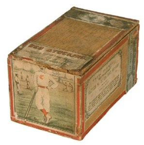 Cincinnati Red Stocking Cigar Box