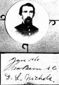 David L. Nichols, 1863