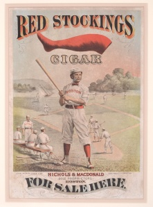 Red Stocking Cigar Poster