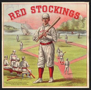 Red Stockings Cigar, ca. 1905