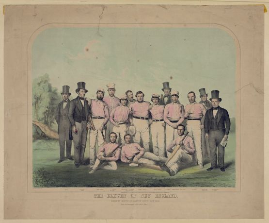 The Eleven of New England, Morgan, Bufford, 1851