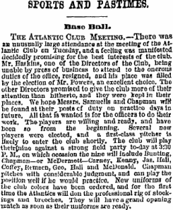 Carney, Coffey, Bunting, 1871 Atlantics
