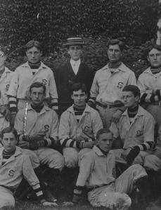 FDR at Groton, 1898.