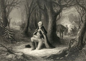 Washington's Prayer at Valley Forge