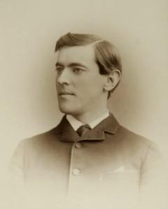 Woodrow Wilson, ca. 1875