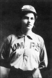 Amanda Clement of Hudson, SD was the first female umpire in baseball.