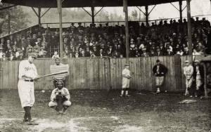 Babe Ruth barnstorming