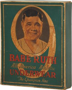 Ruth Underwear  Box ca. 1928