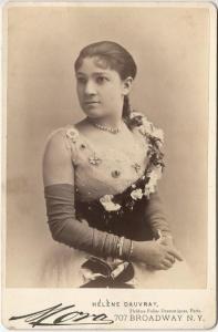 "Helen Dauvray, former ""infant prodigy"" Little Nell, the California Diamond."