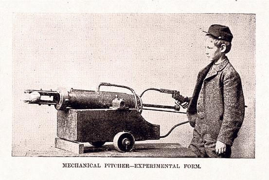 Professor Hinton's Mechanical Pitcher