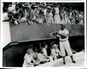 Spring training in Dominican Republic, 1948.