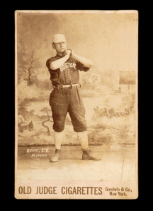 Joe Quinn, 1889. First Australian-born player in MLB.