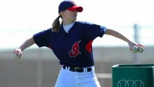 Justine Siegal, founder of Baseball for All.