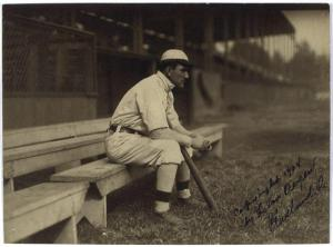 Nap Lajoie at League Park, Opening Day, 1908