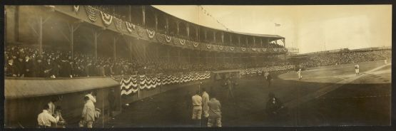 Opening Day, New York  vs Brooklyn, Polo Grounds, April 17, 1903.