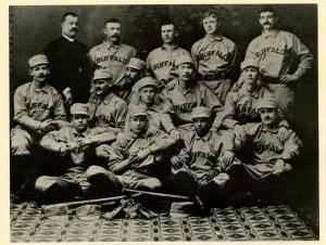 1887 Buffalo with Frank Grant