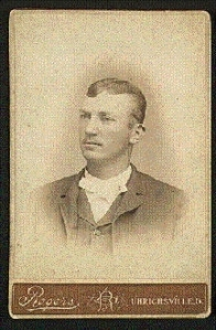 Denton True Young in 1889, not yet a big leaguer