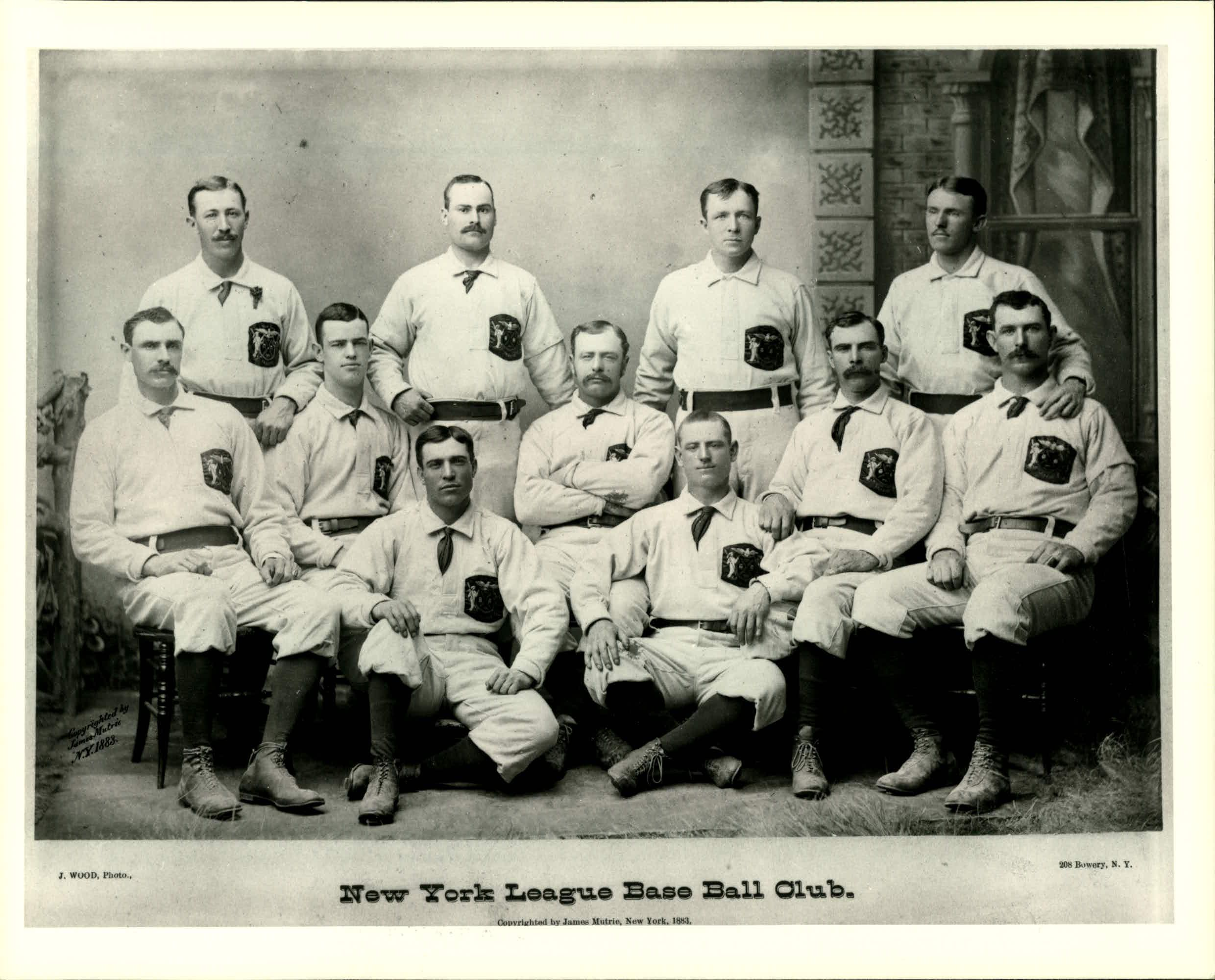 First Baseball Uniform Knickerbockers