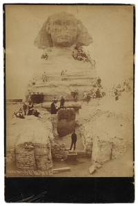 World Tourists at Sphinx, 1889