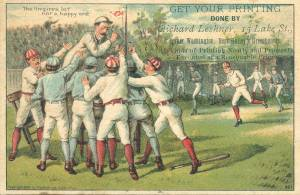 The Umpire's Lot Not a Happy One; Bufford, 1888