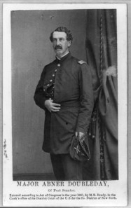 Abner Doubleday by Mathew Brady