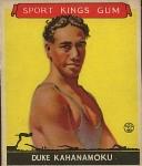 Duke Kahanamoku, Surfer, 1933 Sport Kings