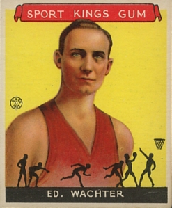 Ed Wachter, Basketball, 1933 Sport Kings