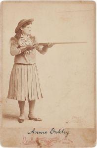 Annie Oakley, Shootist, 1893
