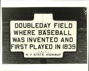 Doubleday Field Plaque