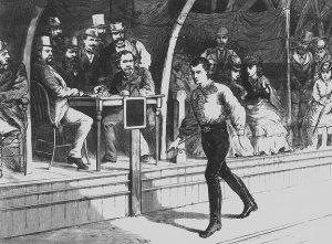Edward Payson Weston, Pedestrian, 1874