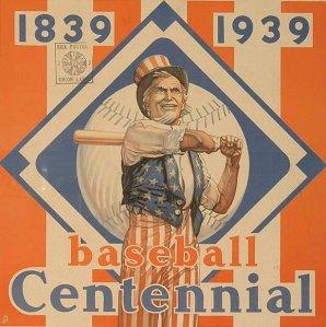 Baseball Centennial Poster
