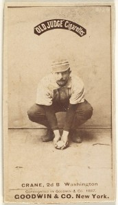 Samuel 'Sam' Newhall Crane, 2nd Base, Washington Nationals, 1887
