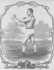Tom Sayers, Champion Pugilist of England, Clipper 1858