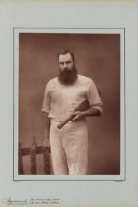 "William Gilbert (""W.G"") Grace, Cricketer, photographer Herbert Rose Barraud, 1888"