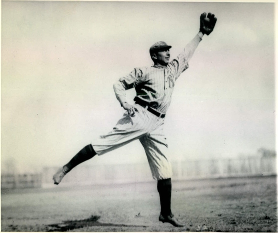 "Frank ""Home Run"" Baker, 1916."