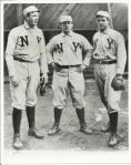 Mathewson, McGraw, McGinnity, 1905.