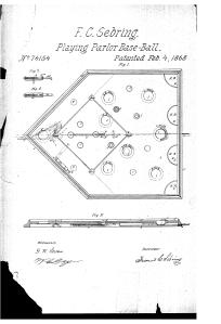 Sebring Patent Design, 1868
