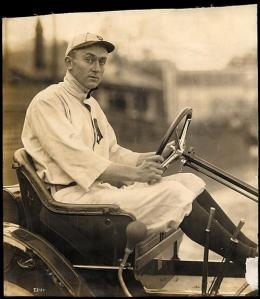 Cobb with Chalmers Car 1910
