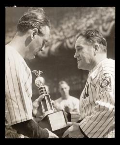 Lou Gehrig, Joe McCarthy.