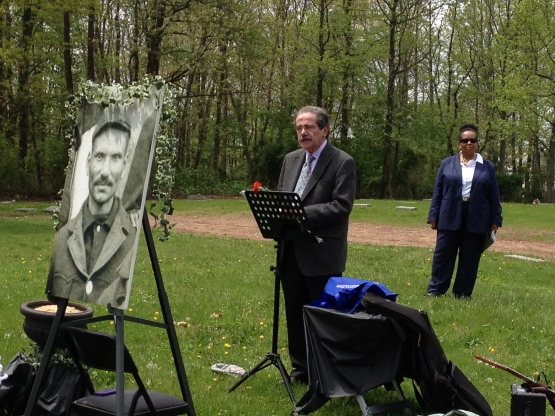 May 10, 2014 Dedication of Sol White Gravestone