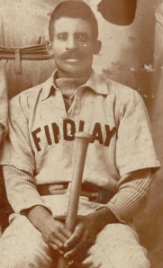 Bud Fowler with Findlay, Ohio club, 1894