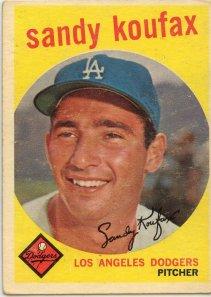 Sandy Koufax, 1959